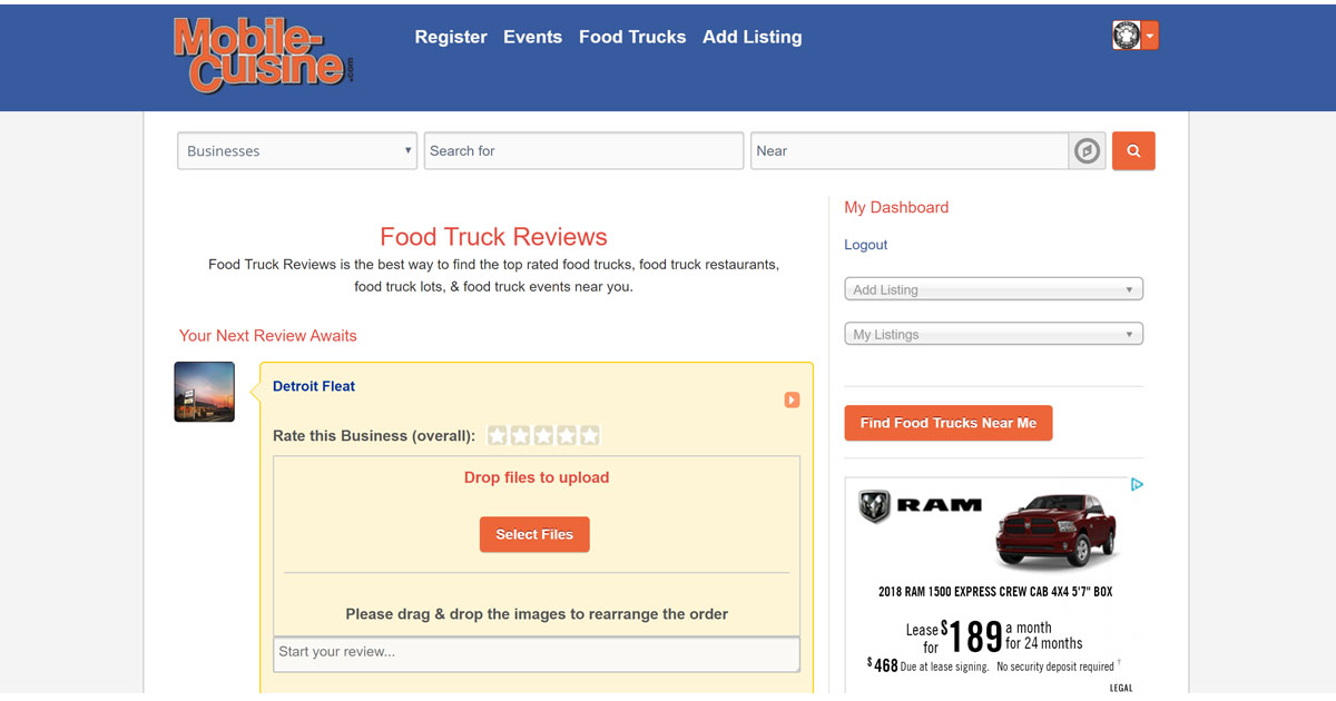 Food Truck Reviews Part Of The Mobile Cuisine Network